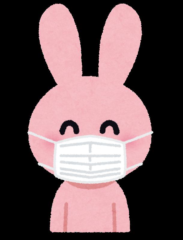 マスクうさぎ
